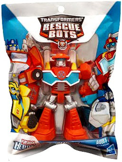 Transformers Rescue Bots Playskool Heroes Heatwave the Fire-Bot Action Figure [Bagged]