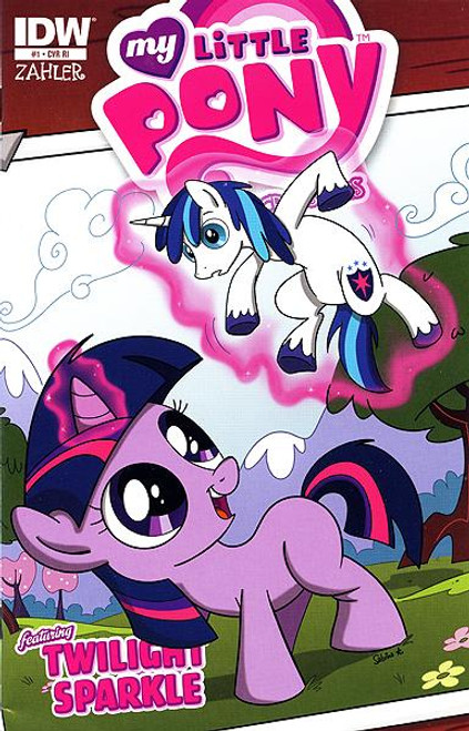 My Little Pony Micro-Series Featuring Twilight Sparkle Comic Book #1 [Retailer Incentive]