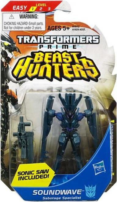 Transformers Prime Beast Hunters Legion Soundwave Legion Action Figure
