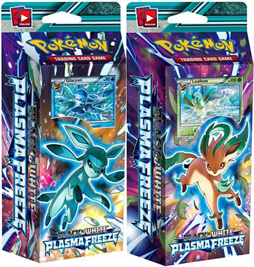 Pokemon Black & White Plasma Freeze Frost Ray & Psy Crusher Set of Both Theme Decks