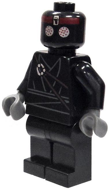 LEGO Teenage Mutant Ninja Turtles Loose Foot Soldier Minifigure [Black Legs Loose]