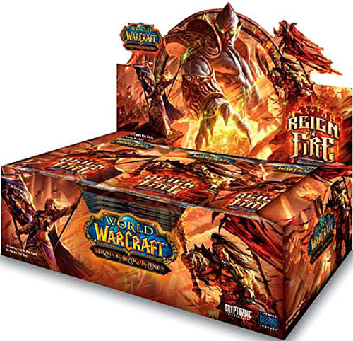 World of Warcraft Trading Card Game Reign of Fire Booster Box