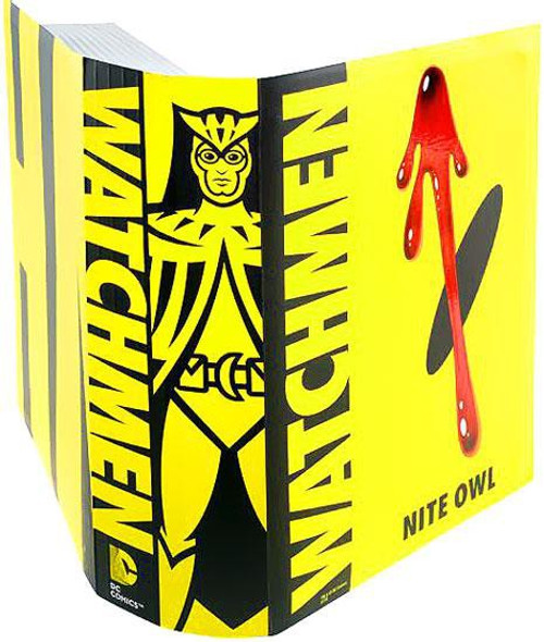 Watchmen Club Black Freighter Night Owl Exclusive Action Figure