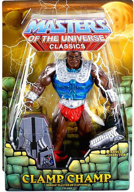 Masters of the Universe Classics Club Eternia Clamp Champ Exclusive Action Figure