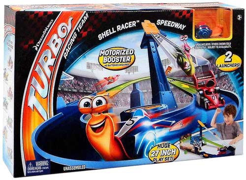 Turbo Shell Racer Speedway Track Set