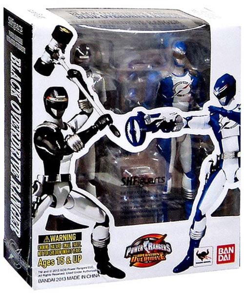 Power Rangers Operation Overdrive S.H. Figuarts Blue & Black Overdrive Ranger Action Figure 2-Pack