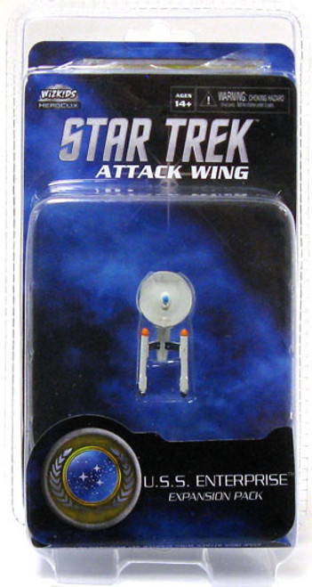 Star Trek Attack Wing Wave 0 Federation U.S.S. Enterprise (ToS) Expansion Pack