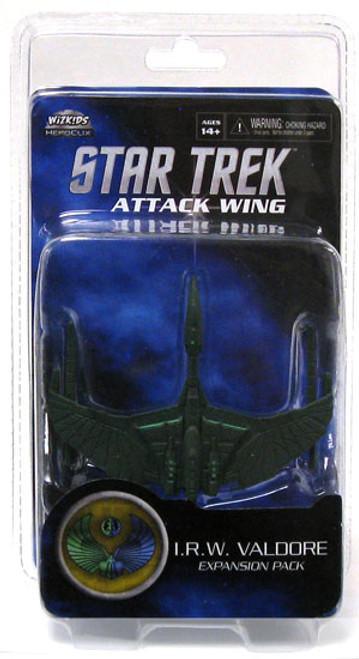 Star Trek Attack Wing Wave 0 Romulan I.R.W.Valdore Expansion Pack