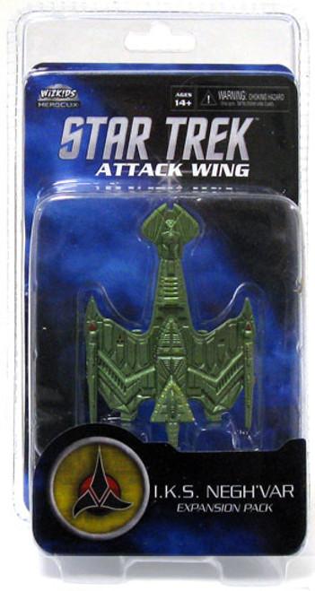Star Trek Attack Wing Wave 0 Klingon I.K.S Negh'var Expansion Pack