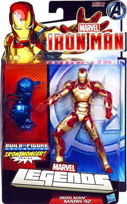 Marvel Legends Iron Man 3 Series 2 Iron Man Mark XLII Action Figure