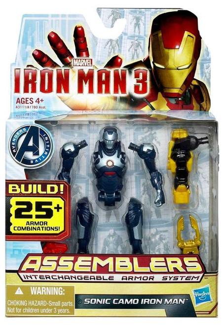Iron Man 3 Assemblers Sonic Camo Iron Man Action Figure