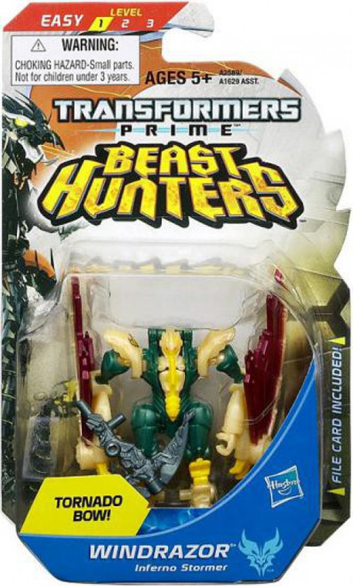 Transformers Prime Beast Hunters Legion Windrazor Legion Action Figure