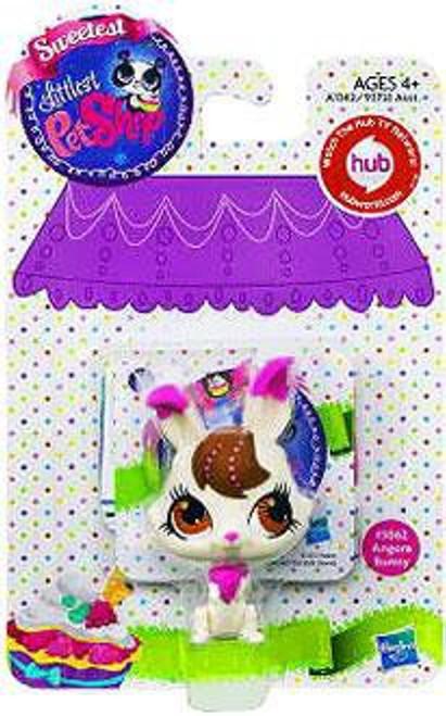 Littlest Pet Shop Sweetest Angora Bunny Figure #3062