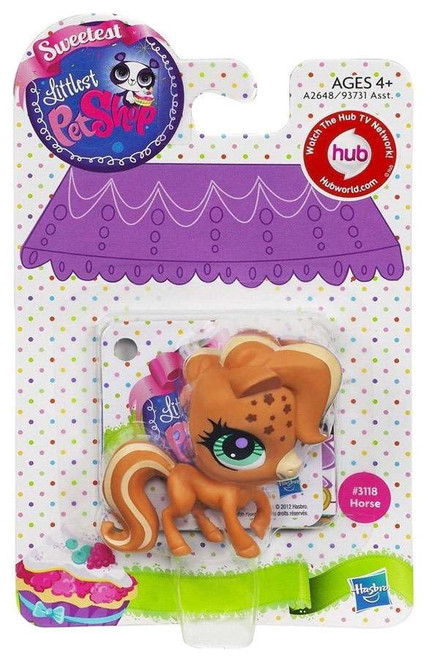 Littlest Pet Shop Sweetest Horse Figure #3118