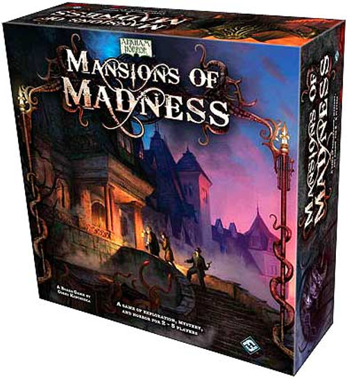 Arkham Horror Mansions of Madness Board Game
