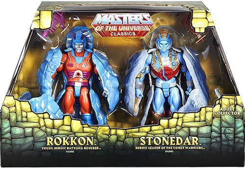 Masters of the Universe Classics Rokkon & Stonedar Exclusive Action Figure 2-Pack