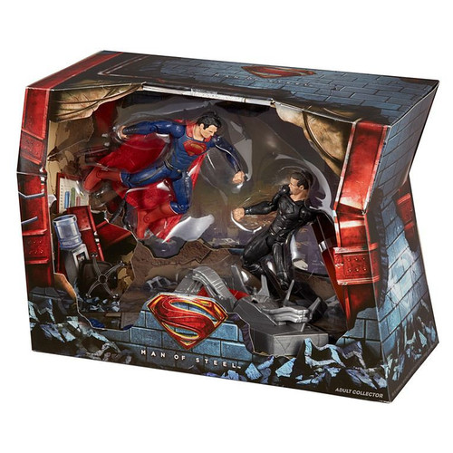 Man of Steel Movie Masters Superman vs. General Zod Exclusive Action Figure Set