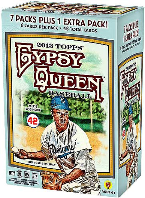 MLB 2013 Topps Gypsy Queen Baseball Cards Trading Card Blaster Box