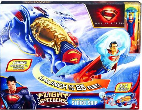 Superman Man of Steel Flight Speeders Kryptonian Strike Ship Action Figure Vehicle