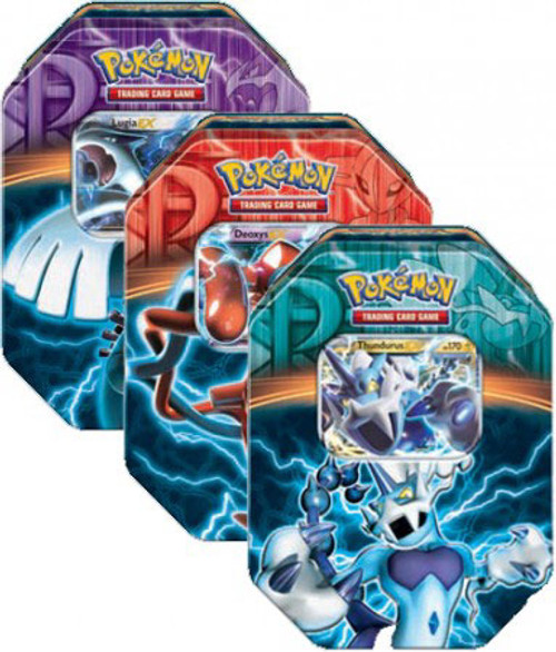 Pokemon Black & White Set of 3 Fall 2013 Team Plasma EX Collector Tins