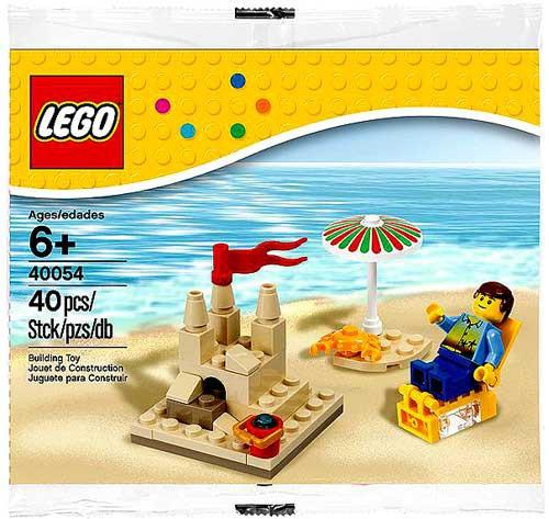 LEGO Summer Beach Scene Mini Set #40054 [Bagged]