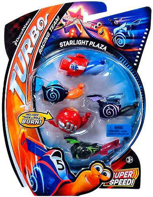 Turbo Movie Moments Starlight Plaza Figure 5-Pack