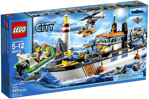 LEGO City Coast Guard Patrol Set #60014