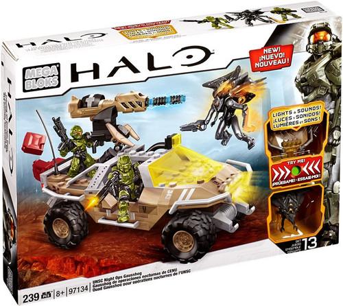Mega Bloks Halo UNSC Night Ops Gausshog Set #97134