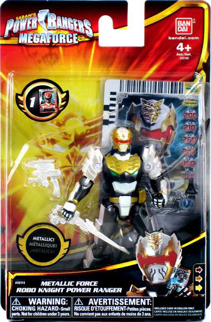 Power Rangers Megaforce Metallic Force Robo Knight Power Ranger Action Figure