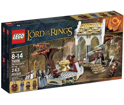 LEGO The Lord of the Rings The Council of Elrond Set #79006