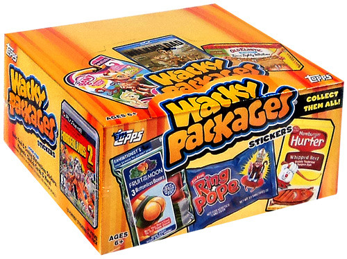 Wacky Packages Series 11 Trading Card Sticker Box