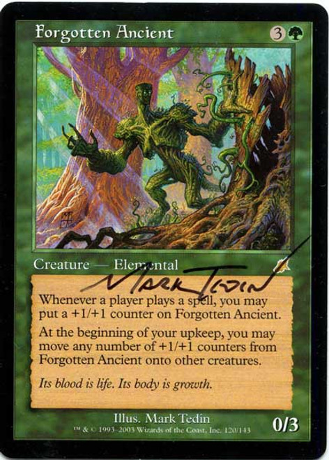MtG Assorted Promo Cards Promo Forgotten Ancient #74 [Artist Proof, Signed]