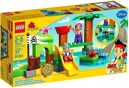 LEGO DIsney Jake and the Never Land Pirates Never Land Hideout Set #10513