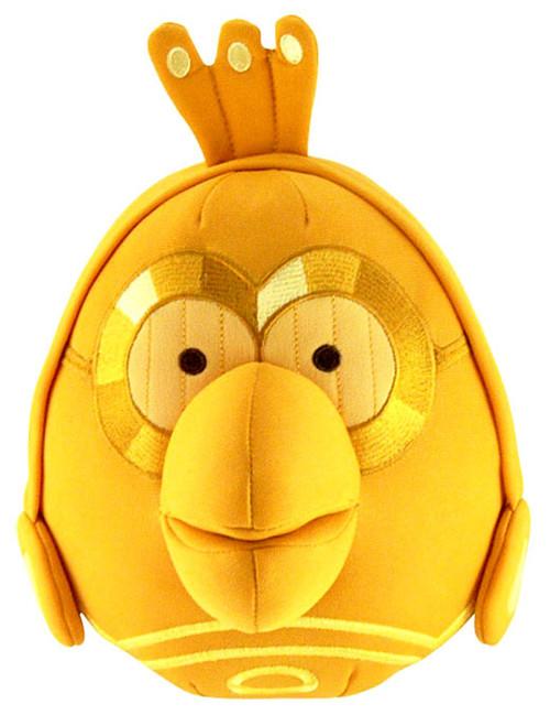 Star Wars Angry Birds C-3PO Bird 12-Inch Plush