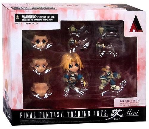 Final Fantasy Trading Arts Kai Zidane Tribal 3-Inch Mini Figure