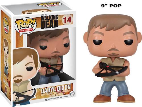 Walking Dead Funko POP! Television Daryl Dixon 9-Inch Vinyl Figure #14 [Over-Sized]
