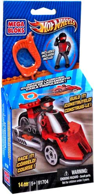 Mega Bloks Hot Wheels Red Outrageous Dragster Set #91704