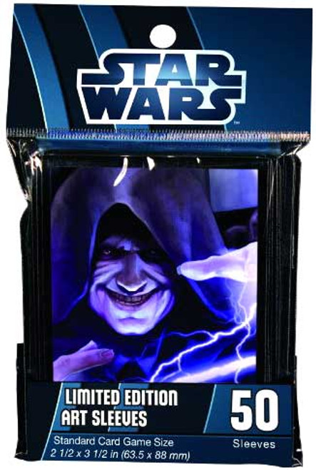 Card Supplies Star Wars Force Lightning Card Sleeves [50 count]