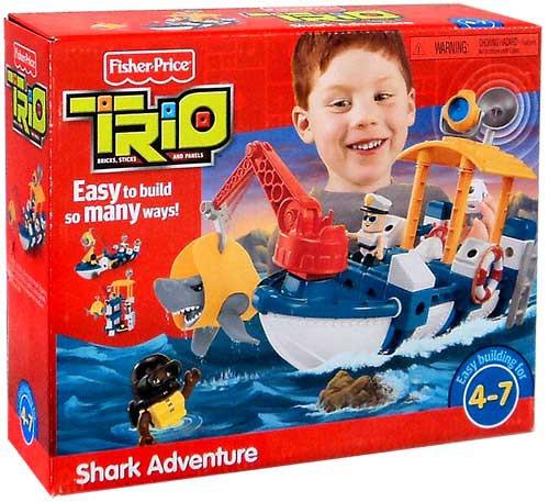 Fisher Price TRIO Shark Adventure Playset