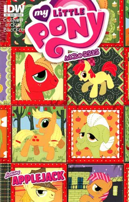 My Little Pony Micro-Series Featuring Applejack Comic Book #6 [Cover A]