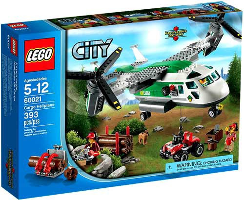 LEGO City Cargo Heliplane Set #60021
