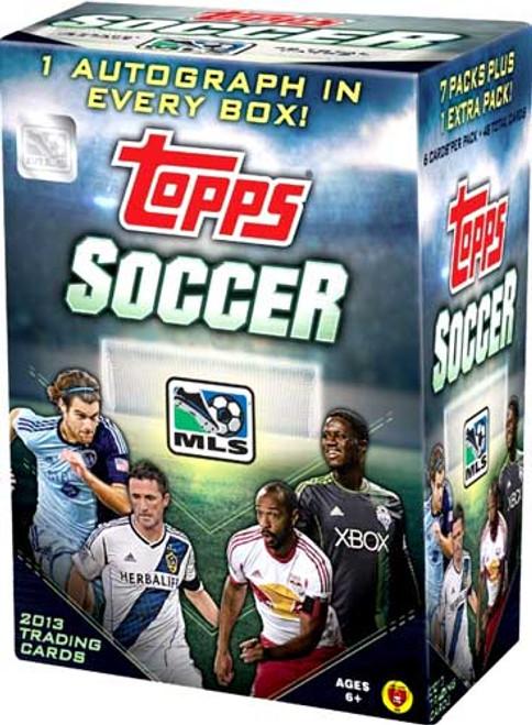 2013 Topps MLS Soccer Trading Card Blaster Box