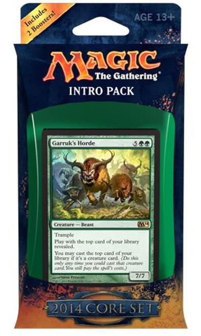 MtG Magic 2014 Bestial Strength Intro Pack