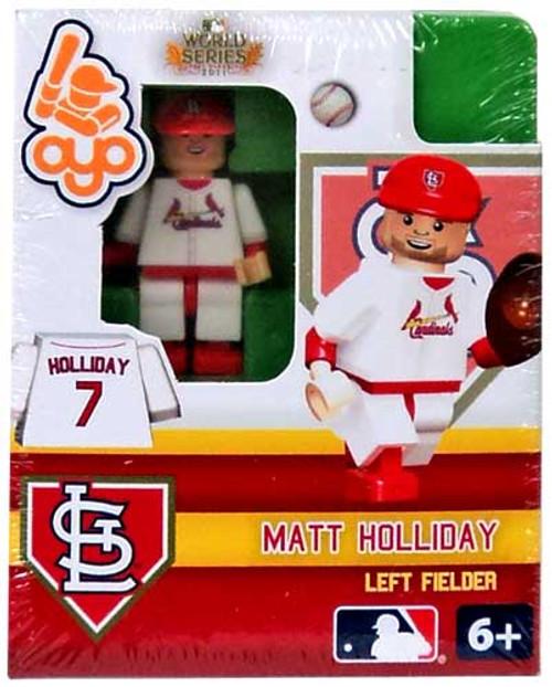 St. Louis Cardinals MLB 2011 World Series Matt Holliday Minifigure