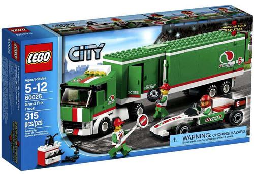 LEGO City Grand Prix Truck Set #60025