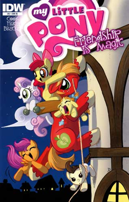My Little Pony Friendship is Magic Comic Book #9 [Retailer Incentive]