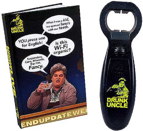 Saturday Night Live Drunk Uncle Bottle Opener