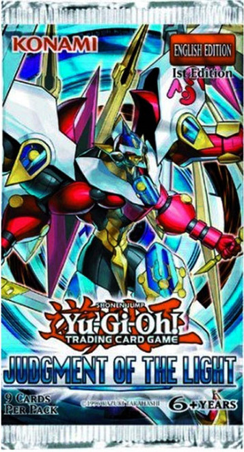 YuGiOh Judgment of the Light Booster Pack [Sealed]