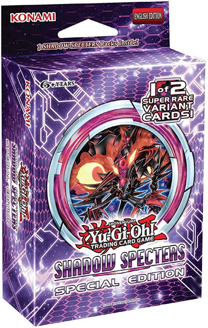 YuGiOh Shadow Specters Special Edition Pack [Sealed]