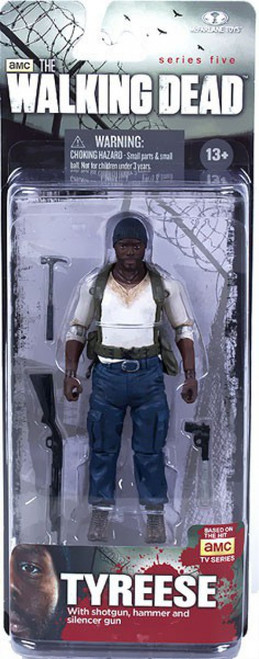 McFarlane Toys Walking Dead AMC TV Series 5 Tyreese Action Figure
